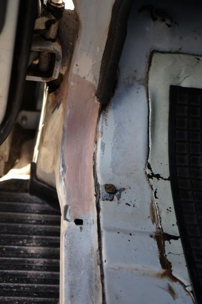 4c - Rust Repair - Filling Rust Hole
