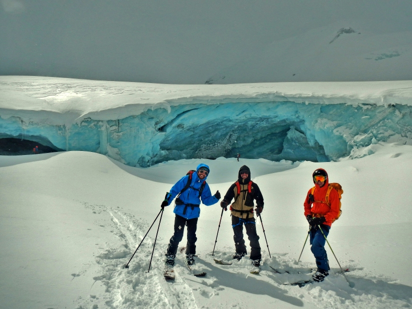Icefall Traverse - Ice Caves