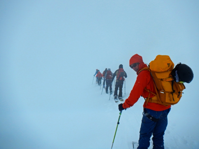Icefall Traverse - Low Visibility